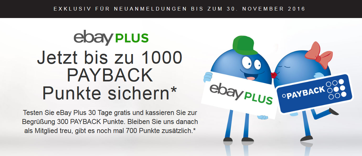 eBay Plus Payback