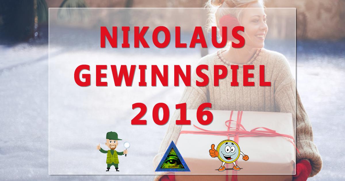 Nikolaus-Gewinnspiel